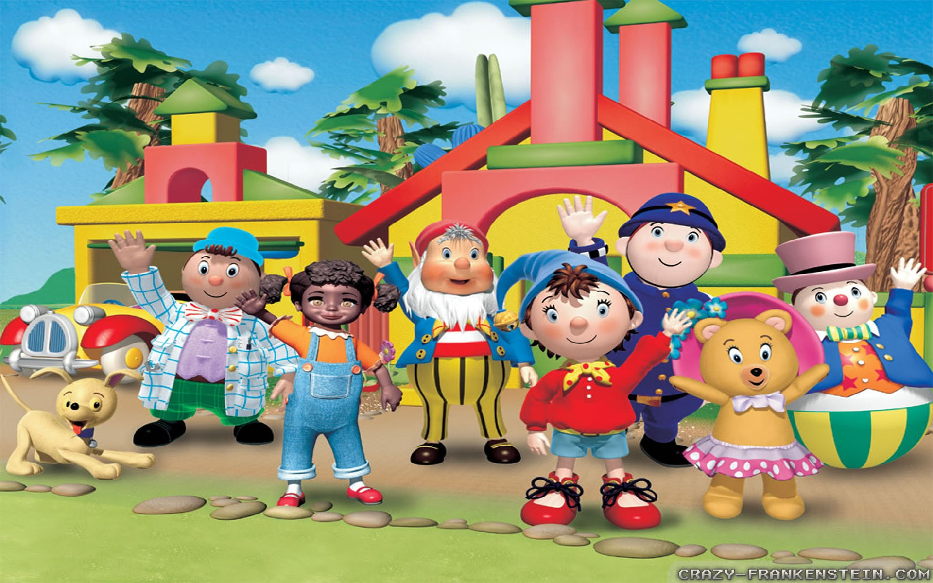You are currently viewing Noddy in the Big City: A Review of Noddy in Toyland